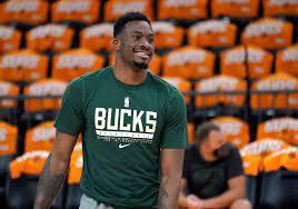 Milwaukee Bucks' Thanasis Antetokounmpo out for NBA Finals Game 5