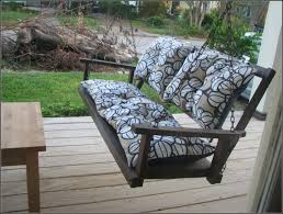 Porch Swing Cushions With Back Patios Home Decorating Ideas