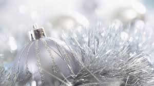 Silver Holiday Christmas Ornament ...
