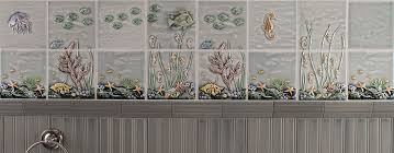 Decorative Relief Tiles Sealife Archives Pratt Larson 77