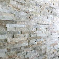 stone wall tiles oyster mini split face tile is a natural slate wall tile that interlocks