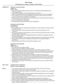 Senior Sales Engineer Resume Samples Velvet Jobs