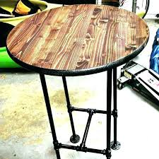 round bar top table folding high top tables round bar top table high round bar table