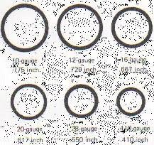 Shotgun Spread Pattern Chart 20 Gauge Choke Tube Chart Bedowntowndaytona Com