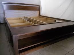 platform diy king size bed frame