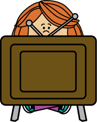 tv clipart png. kid watching tv tv clipart png