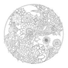 Secret Garden Coloring Pages Coloring Pages For Everyone