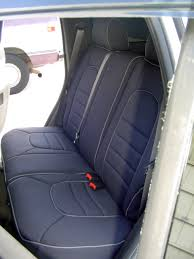 chevrolet hhr full piping seat covers rear seats