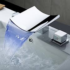 bathroom waterfall bathtub faucet  waterfall faucet  faucets
