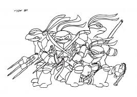 Small Picture Coloring Pages Ninja Turtles Coloring Pages Printable Coloring