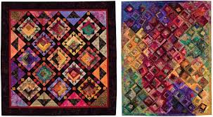 How to design a quilt – 3 easy ways (+ sale) - Stitch This! The ... & Batiks plus vintage style fabrics - from Quilt Challenge by Sharyn Craig  and Pam Mostek Adamdwight.com