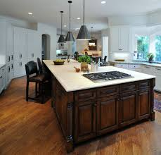 Excellent Kitchen Island Breakfast Bar Photo Concept Curved Granite Islands  With