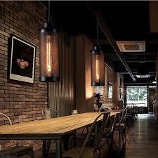 winsoon 1 pc vintage art pendant lamp metal decoration hanging light chandelier bar all s