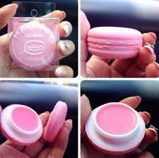 make up lips lip balm macaroon vaseline candy lipstick chapstick sweet maccaroons girly lip balm