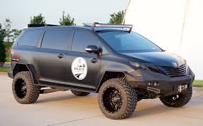 Try Calling This Custom Toyota Sienna A Soccer Mom's Minivan ...