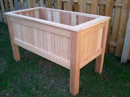 Small Picture Diy Raised Planter Box Home Design Styles