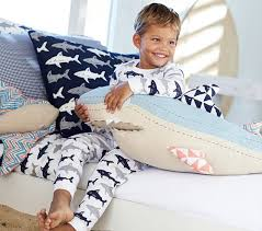 shark tight fit pajama pottery barn kids alternate view