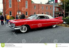 Manheim, PA: Classic Car Show Cadillac Editorial Stock Photo ...
