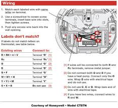 honeywell thermostat wiring diagram 5 wire wiring diagram heat pump thermostat wiring chart diagram hvac heating cooling