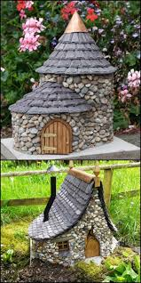 how to make a fairy garden house. Wonderful Make INSPIRATION IDEA For A DIY Mini Project  These Small Fairy Towers Are Just  Right Your Fairies The Enough Therefore They Can Fit In  Throughout How To Make A Fairy Garden House