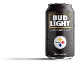Steelers Bud Light Cans For Sale Steelers Fans Bud Light Has Created A Can Just For You