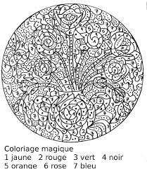 15 Coloriage Magique Difficile Cm2 Chevaux