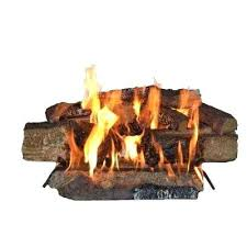 glowing embers for gas fireplace country split oak in vented natural gas fireplace logs glowing embers