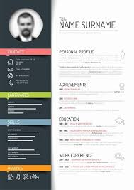 Best Modern Resume Templates Free For Download Free Modern Resume