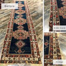 rug repair gallery before and afters orange county cleaners