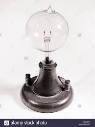1879 Electric Light Bulb Electric Light Bulb Historical Stock Photos Electric Light