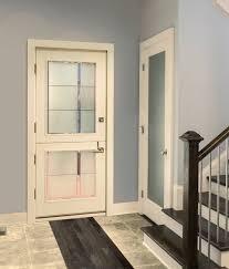 contemporary dutch door