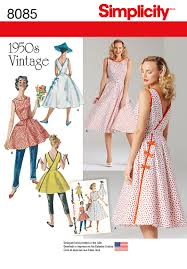 Simplicity Patterns Vintage Mesmerizing Simplicity 48 Misses' Vintage 48's Wrap Dress In Two Lengths
