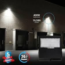 20000 Lumen Led Flood Light Flood Lights 150w 5700k 20 000lumens 100 277v Black Gas Station Lights
