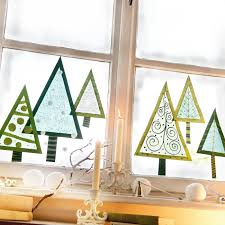Window Trees Tonpapier Ausschneiden Transparentpapier