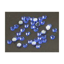 Kamínky Na Nehty Kulaté Modrá 175mm 40ks Kosmetika Nehty