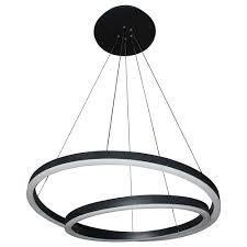 black modern chandeliers. Full Size Of Lighting:all Modern Lighting Tania Duo Vmcbl Two Tier Led Chandelier Black Chandeliers