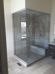 steam shower with operable transom