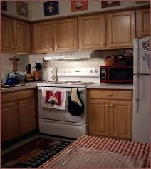 post navigation a chef decor for kitchen black red and