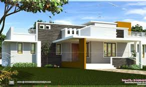 single floor contemporary house design