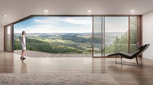 Schlanke Hebeschiebetür Für Große Glasflächen Detail Magazin Für