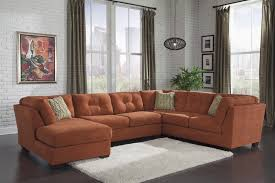 E Rust Colored Sectional Sofarust Colored Sofa Thesofa
