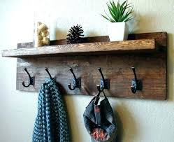 Rustic Wall Coat Rack Awesome Rustic Wall Mounted Coat Rack Wall Coat Hanger Rustic Wall Mounted