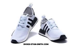 adidas originals nmd men. adidas official store   originals nmd runner primeknit mens running shoes white black men