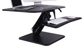 adjustable standing desk converter. Perfect Converter FlexiSpot 27u0026quot Height Adjustable Standing Desk Converter W Quick  Release Removable Keyboard Tray To Adjustable O