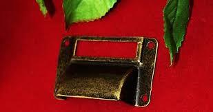 furniture hardware pulls vintage. antique bronze cabinet hardware pulls vintage wooden box bin furniture card holder drawer pull label holders l
