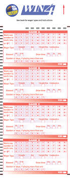 Win 4 Draw Game New York Lottery