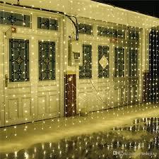 large size 10m x 5m 1600 led lights garden light curtain decoration lantern lighting string ac110v