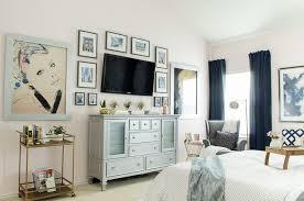 Modern Glam Bedroom Polished Habitat