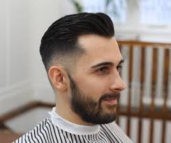 short pompadour haircut