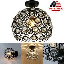 details about metal wire cage hanging lamp shade plug in ceiling chandeliers pendant lights us
